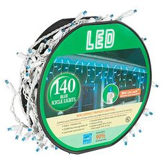 Delightful 140 Count LED Wheel Icicle Lights At Big Lots. Pictures