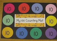 100 day counting mats