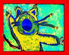 cat+artwork | Savannah Cat by SPo Cat Paintings