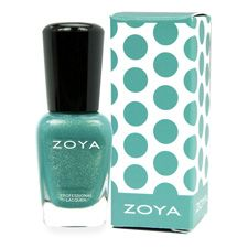 Zoya Nail Polish Mini in Zuza with Color Cutie Box! Available while supplies last.