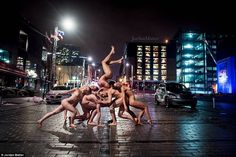 Dancers After Dark - Naked Dancers on the Night Streets by Photographer Jordan Matter, http://happybrainy.com/dancers-after-dark-naked/