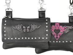 New Xelement Lady-Biker Belt Bags - Loved by Biker Women   Motorcycle Blog of Leatherup.com