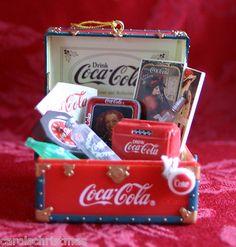 Trunk Full of Treasures 1995 Coke Coca Cola Enesco Christmas Ornament