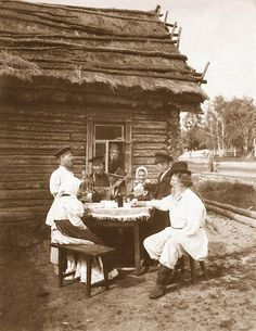 picture taken somewhere in the periphery of the Russian Empire, early 20th century