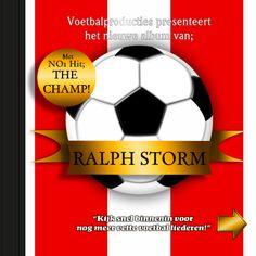 voetbal CD kaart a zelf invullen - Verjaardagskaarten - Kaartje2go