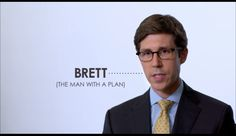 "GAY AD:  Brett Smiley: ""Man with a Plan"""