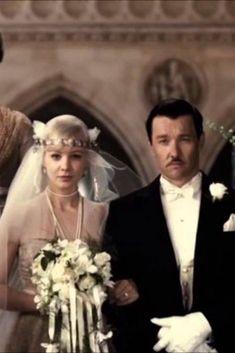 Carey Mulligan as Daisy Buchanan. The Great Gatsby 2013- HarpersBAZAAR.com #fatherofthebrideoutfit #father #of #the #bride #outfit #step #father #of #the #bride #outfit Daisy Wedding, Wedding Art, Wedding Gowns, Bridal Gowns, Wedding Posing, Wedding Ideas, The Great Gatsby Movie, Great Gatsby Wedding, 1920s Wedding