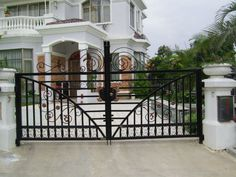 2013 Modern Wrought Iron Security Door Designs - Buy Main Entrance ...