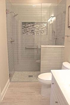40 Modern Small Master Bathroom Renovation Ideas - Page 20 of 40 Bathroom Design Small, Bathroom Layout, Bathroom Interior, Bathroom Storage, Bathroom Ideas, Bathroom Organization, Bathroom Inspiration, Bathroom Cabinets, Bathroom Designs