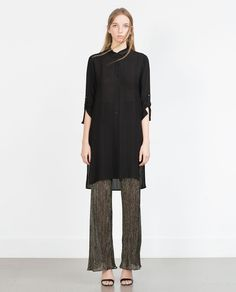 Image 1 of STRUCTURED TUNIC from Zara