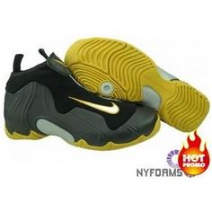 Nike Air Flightposite One Black Yellow. lebron for cheap ... 1a7cddfd4