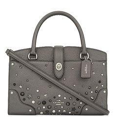 COACH . #coach #bags #shoulder bags #hand bags #leather #tote #metallic #