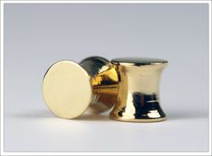 18ct Solid Gold Ear Plugs for Stretched Ears
