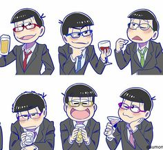 """116 Me gusta, 1 comentarios - @oooooosomatsusan en Instagram: """"#osomatsusan #osomatsu #karamatsu #choromatsu #ichimatsu #jyushimatsu #todomatsu #おそまつさん #おそ松さん…"""""""