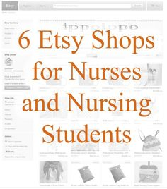 These shops all sell useful and clever items for nurses.Every RN has a unique sense of style. Here are Roseman University nursing's favorite Etsy stores for nurses and nursing students. Nursing School Tips, Nursing Career, Nursing Tips, Nursing Notes, Funny Nursing, Nursing Schools, Nursing Courses, Nursing Articles, Oncology Nursing