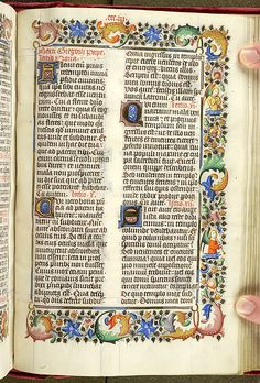 Egmont breviary, MS M.87 fol. 302r - Images from Medieval and Renaissance…