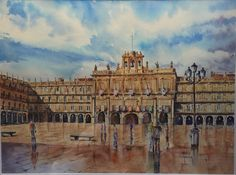 Plaza Mayor de Salamanca, Spain