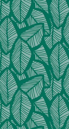 Tropical leaf iphone wallpaper