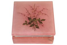 Pink Alabaster Box on OneKingsLane.com