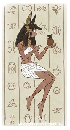 Thought this was genderbent Chat Noir in Egypt with Plagg. but apparently that's Pharrah from overwatch. too many fandoms. Character Inspiration, Character Art, Character Design, Character Illustration, Illustration Art, Anime Egyptian, Egypt Art, Goddess Art, Art Graphique