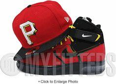 Pittsburgh Pirates Shadow Scarlet Jet Black Scarlet Air Bakin Ketchup Mustard New Era Hat