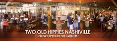 Live by the motto, Peace, Love and Rock n' Roll at Nashville's Two Old Hippies in the Gulch