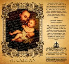 """Saint Cajetan, a priest in 1523, founded the Theatine Order in an attempt to restore dignity to the clergy. Unfortunately, his partner in this venture was the highly undignified future Pope Paul IV, of whom it was said """"If his mother had foreseen his career, she would have strangled him at birth."""" The Theatines never really caught on. Cajetan also founded some pawn shops, which explains why he is the patron saint of the unemployed and gamblers."""