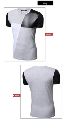 8 diseños para hombre T Shirt Slim Fit cuello de equipo hombres camiseta de manga corta para camiseta Casual Tee Tops para hombre de manga corta tamaño M 5XL en Camisetas de Ropa y Accesorios en AliExpress.com | Alibaba Group Polo T Shirts, Sport Man, Golf Outfit, Men's Collection, Alibaba Group, Street Wear, Men Sweater, Couture, Tees