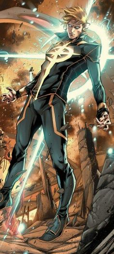 Kevin Kale Connor aka Star Brand from Avengers World Vol 1 Marvel Comics Art, Marvel Comic Books, Comic Book Heroes, Marvel Heroes, Anime Comics, Comic Books Art, Marvel Avengers, Comic Art, Cosmic Comics