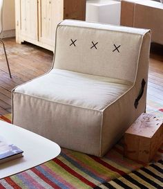 Kisses and Hugs - Koskela's #QuadrantSoft  sending XXX kisses as the back detailing. This foam seat with leather details will also hug you OOO as soon as you drop into it's soft seat. XOXOXO