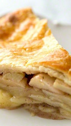 Best Apple Pie Ever ~ With a homemade NO-FAIL flaky, buttery pie crust. Loads of apples and a touch of brandy in the filling.: