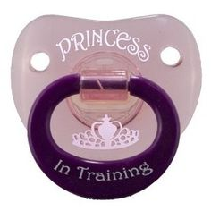 Billy Bob 'Princess in Training' Personality Pacifier