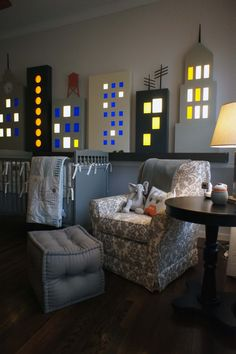 The Studio Blog - How You Dwell - A Skyline Scene by DwellStudio love it!!!