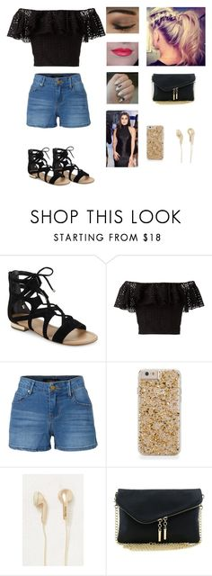 """RTD***Listen to Strangers by Halsey and Lauren Jauregui"" by rusher-11 ❤ liked on Polyvore featuring Saks Fifth Avenue, Philosophy di Lorenzo Serafini, LE3NO, Happy Plugs and Laurengirls4life"