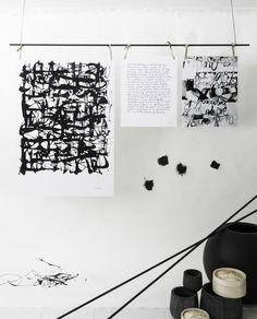 News s/s 2015. Prints Ylva Skarp. Photo and styling Annaleena Leino.