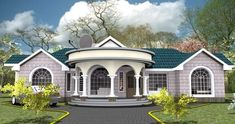 House Plans Designs-Modern House Plans And Designs In Kenya Modern Bungalow House Design, Modern Bungalow Exterior, Modern Small House Design, Two Storey House Plans, My House Plans, Modern House Plans, House Plans With Pictures, House Design Pictures, Bungalow Floor Plans