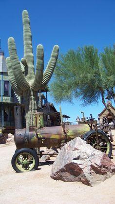 Arizona Ghost Town...Photo by: J.S. Petralito