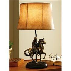 Native American Table Lamp