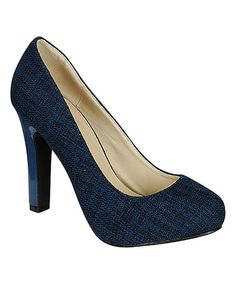 Take a look at this Navy Brooks Pump by Radiant Footwear on #zulily today! $20 !!