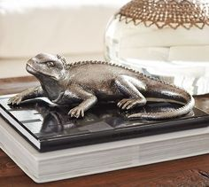 I saw this at Pottery Barn tonight. It was so realistic I expected it to move!