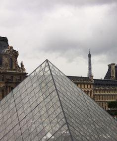 Eiffel....Louvre....Pyramid...