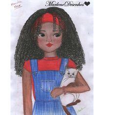 Marlene Fazendo Arte : Pietra Com Gato | Edição Meninas Negras -- Marlene...