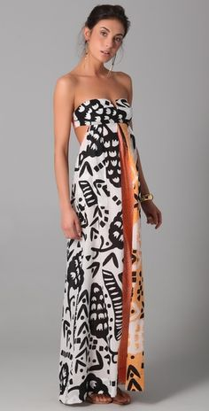 DVF cover up. with big bow in the back? yes please.