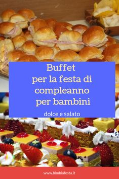 Cupcake, Party Buffet, Antipasto, Finger Foods, Birthday Parties, Food And Drink, Breakfast, Health, Birthdays