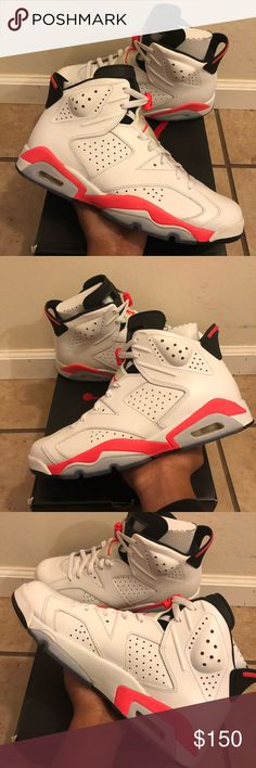 f1637df6788 Infrared Jordan 6 2014 Release 9 10 Condition (Little Creasing