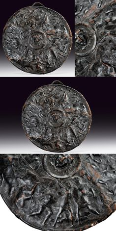A parade shield,    provenance: North Italy dating:  16th Century