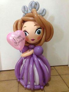 Princess Sofia Disney, balloons princess Sofia