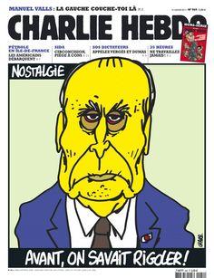 Mitterrand - Charlie Hebdo