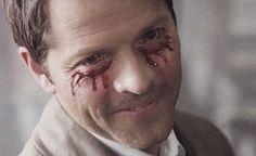 You Misha. You. Season 10 gag reel