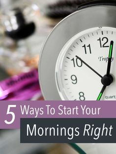 5 Ways to Start Your Mornings Right - Jessoshii
